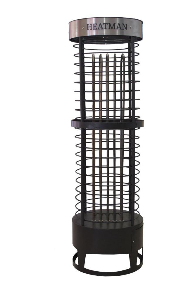 Электрическая каменка для саун «Heatman» Slim